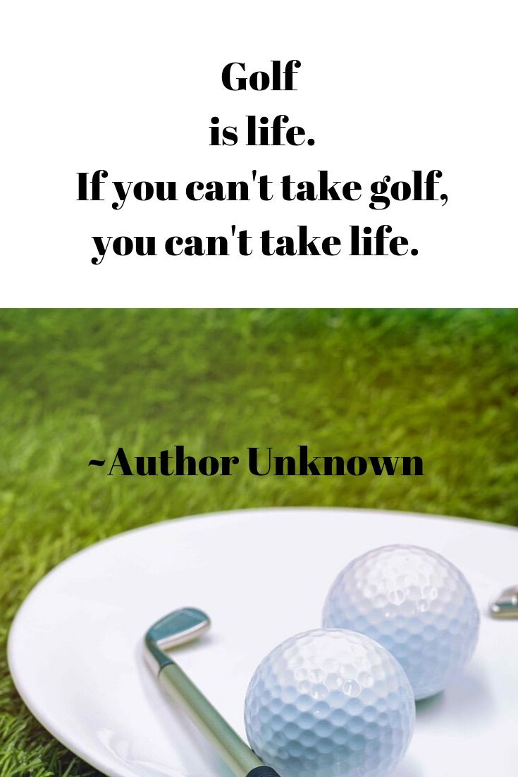 Golf Funny Quotes