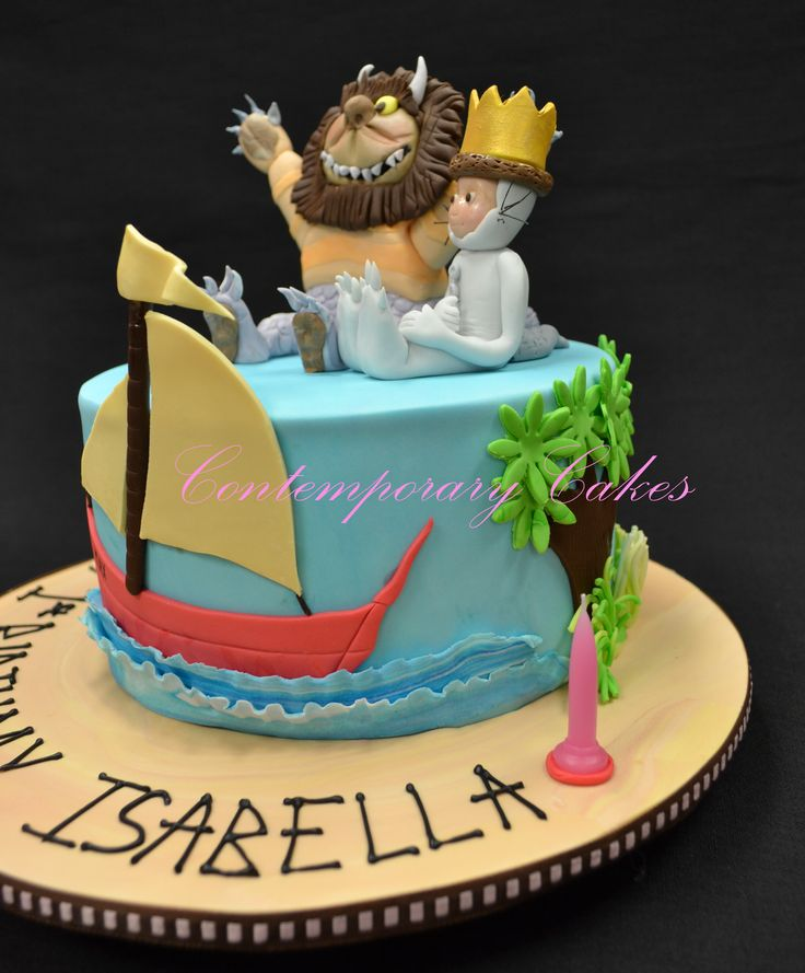 Where the wild things are cake.