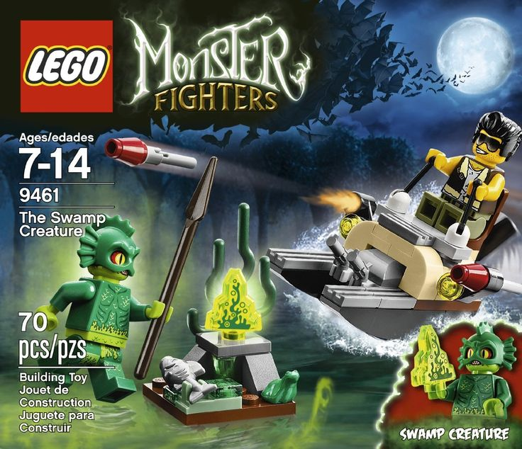 Amazon.com: LEGO Monster Fighters 9461 The Swamp Creature: Toys & Games