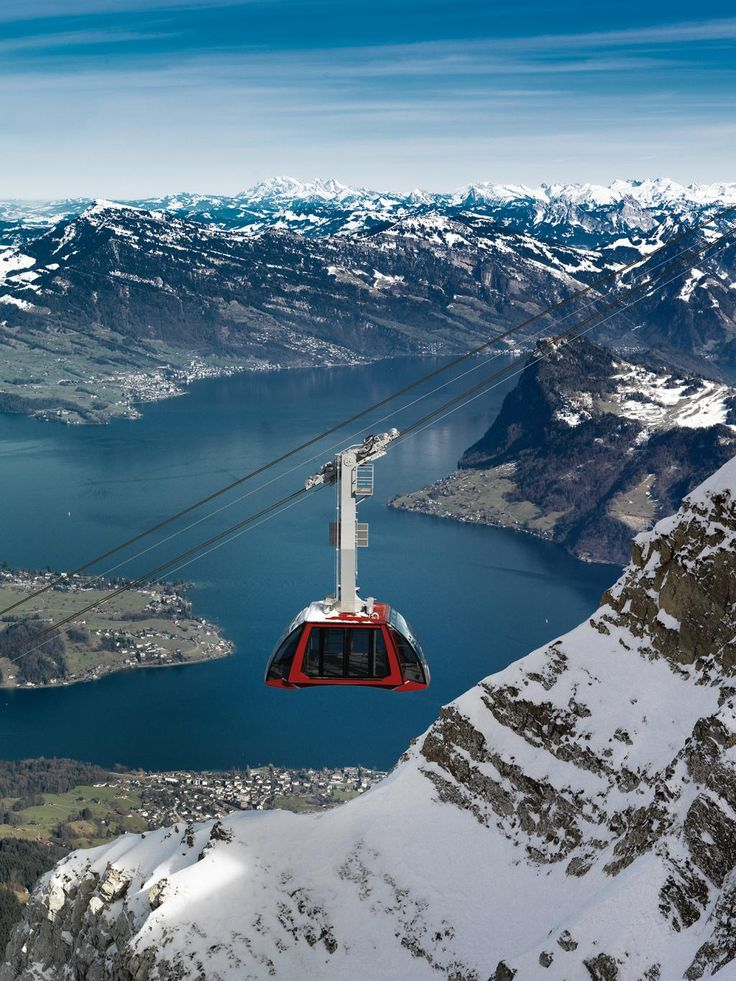 Dragon Ride, Mt.Pilatus, Switzerland; photo by Urs Wyss