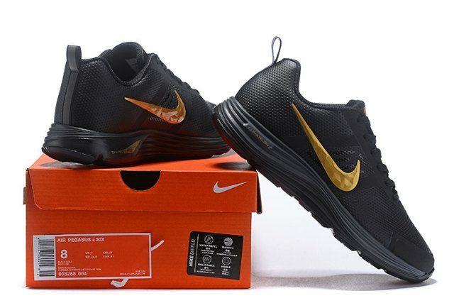2c4cd734b Nike Air Zoom Pegasus 30 Men s Running Shoe Black Gold  DC004726 in ...