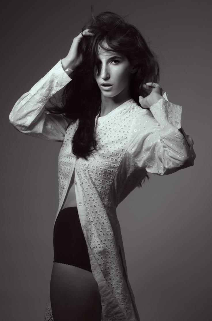 Hair & makeup by Georgina D Makeup Black and white beauty shoot