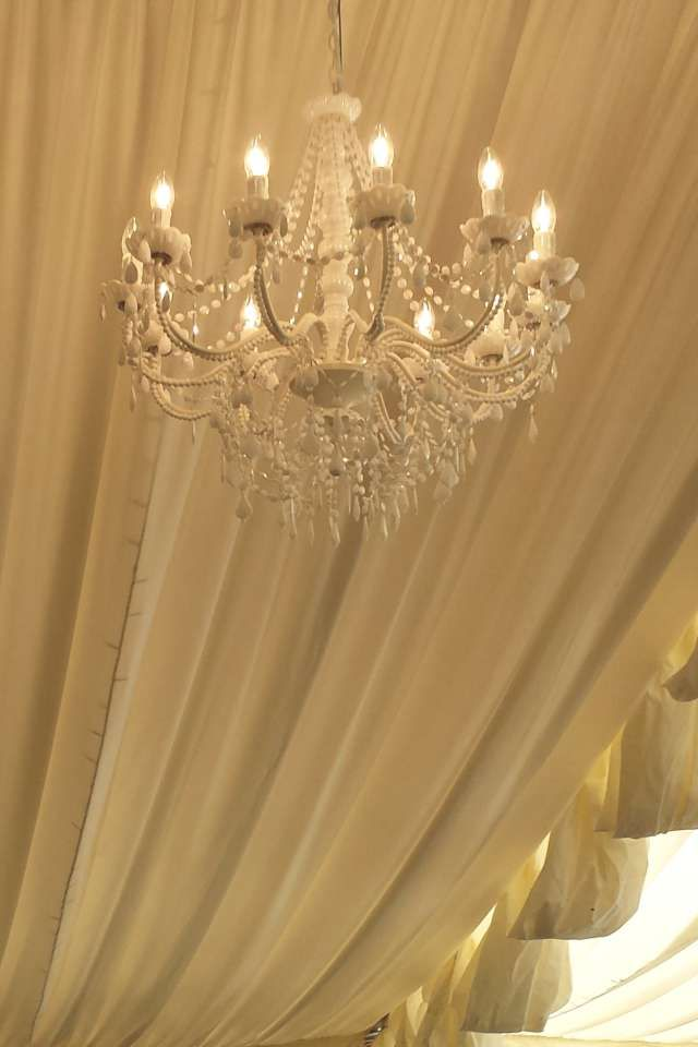 Chandelier Hire For Weddings And Events With Several Styles Available Including Crystal Tiered Vintage