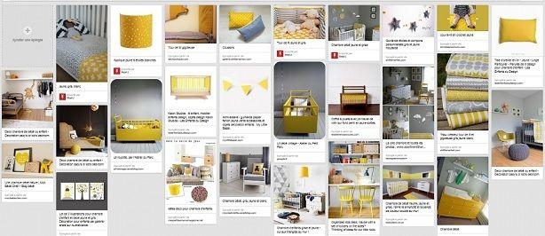 17 mejores ideas sobre chambre grise et blanche en pinterest dormitorio gris blanco chambre a for Chambre jaune et blanche