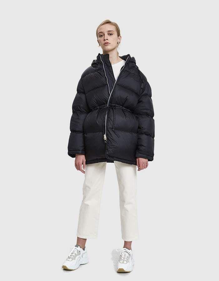 Acne Studios Oversized Puffer Jacket Jackets Puffer Jackets Casual Street Style