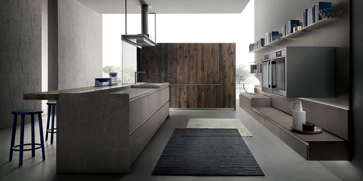 Italian Modern Design Kitchens - Icon by Ernestomeda Cook - ernestomeda barrique