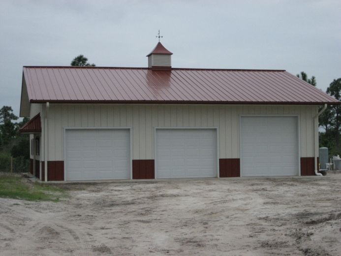 1000 images about pre engineered metal buildings on for Pre engineered garage