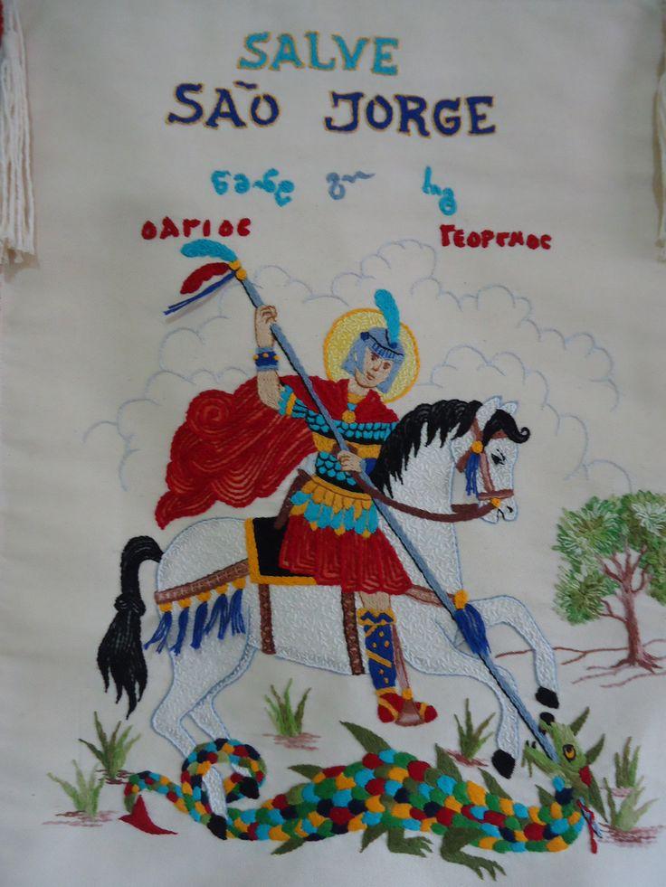 Salve São Jorge... por Ruiy Moura