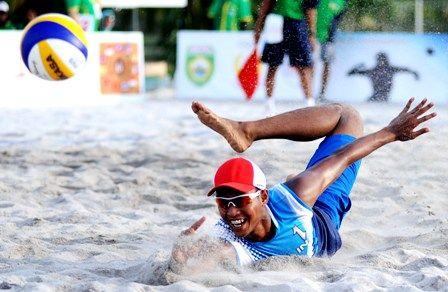 Jelang PON, Atlet Voli Pantai Jatim Ke Turnamen AVC Australia