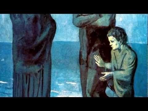 Pablo Picasso - Periodo Azul - Música Granados -