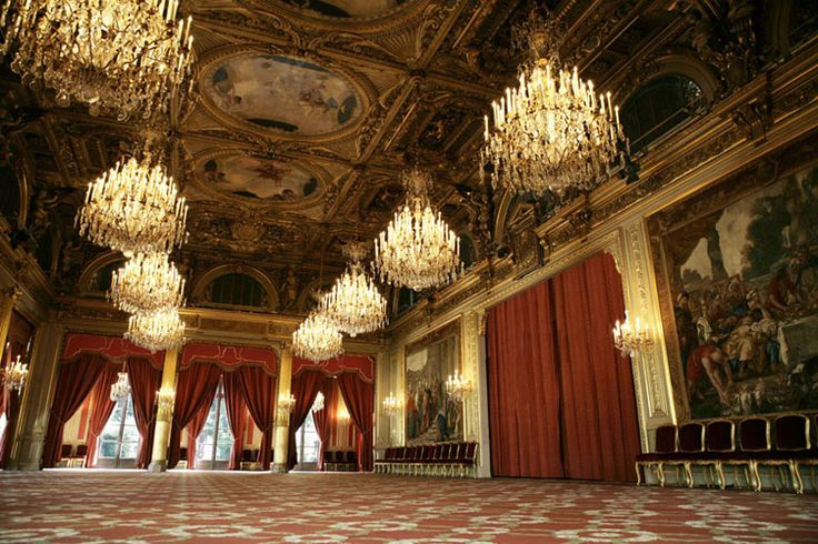 palais de l 39 elysee salle des fetes paris pinterest. Black Bedroom Furniture Sets. Home Design Ideas