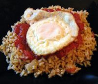Arroz Cubano - Easy Cuban Rice Recipe- Arroz a la Cubana