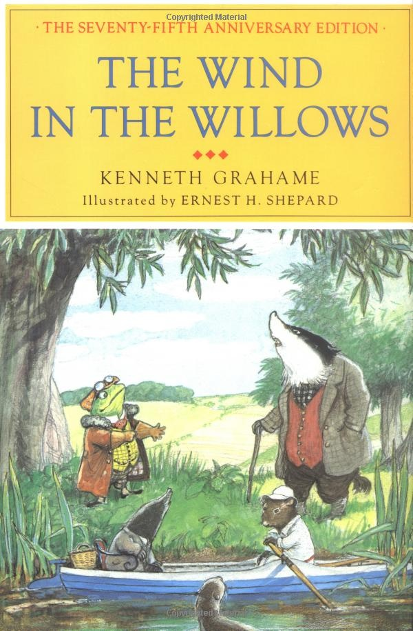 The Wind in the Willows. Best illustrated version (Ernest H. Shepard)