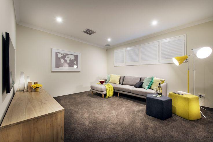 Theatre - Monroe Display Home - Homebuyers Centre - Baldivis, WA Australia