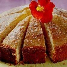 Mormor Alice fantastiska sockerkaka (Sockerkaka på sur grädde eller creme fraiche om man vill)