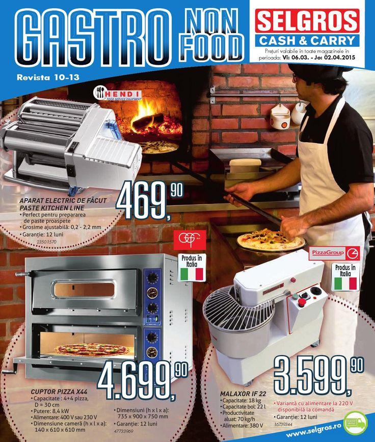 Vizualizati noul Catalog Selgros Gastro Non-Food valabil in perioada 06.03-02.04.2015
