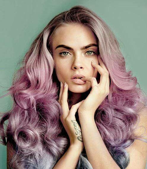 Multi tone dip dye blush grey
