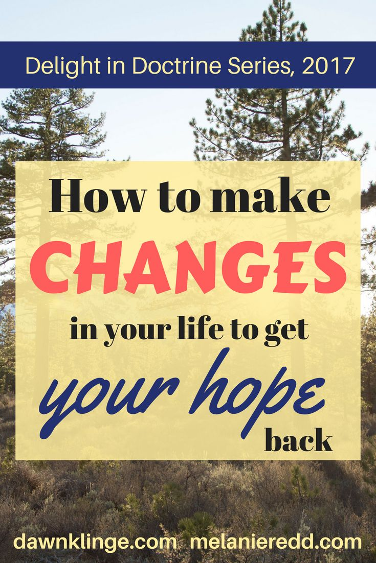how to get hope back in your life