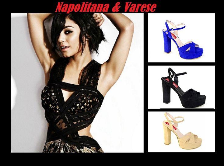Γυναικεία ψηλοτάκουνα πέδιλα με λουράκια σε μαύρο, nude και μπλε ρουά απο 59€