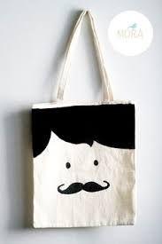 Resultado de imagen de bolsas tela pintadas