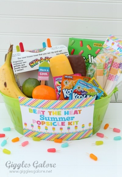 Summer Popsicle Kit Gift - AWESOME!
