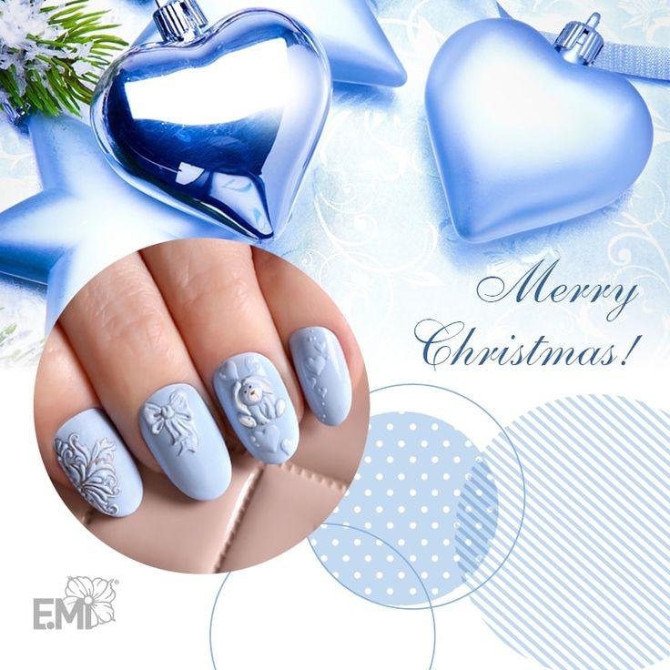 xmas design for nail art of Emi #Emimanicure • xmas nails easy • xmas nails designs • xmas nails art • xmas nails winter • xmas nails red • xmas nails shellac • xmas nails blue • xmas nails glitter • xmas nails simple • xmas nails sparkly • xmas nails diy • xmas nails black • xmas nails pink