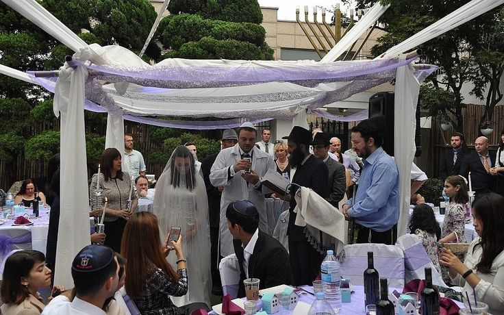 Mariage juif en Corée du Sud
