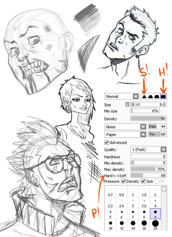 36 best images about sai brushes on pinterest