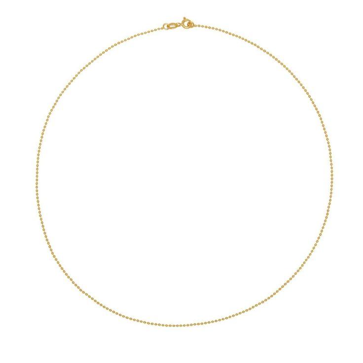 Złoty łańcuszek Tous Chain