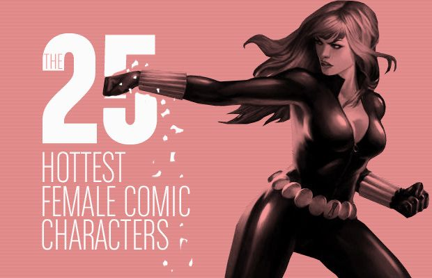 Halloween Costume Inspiration: The 25 Hottest Female Comic Characters. I'm not quite ready for the whole list but oh yes a lot of these will be done! #7 this year :)