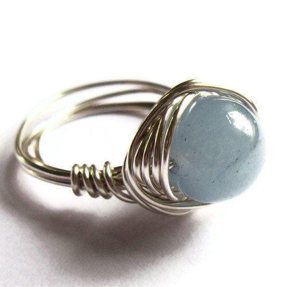 21 besten wire rings Bilder auf Pinterest | Drahtumwickelte ringe ...