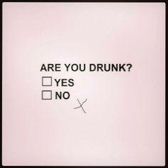 drink much?