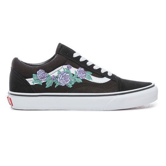 Rose Thorns Old Skool Shoes   Vans
