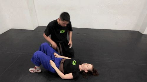 How to Get Out of a Throat -Lock | Self-Protection Gif