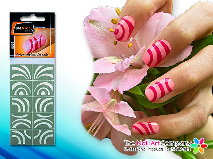 82 best stencil nailart images on pinterest decal decals and smart nails magnet nail art stencil set n053 prinsesfo Images