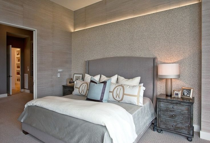 8 Great Color Palettes: Surprising Bedroom Neutrals  Transitional Bedroom by Greenbelt Construction