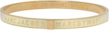 MARC BY MARC JACOBS Armband Skinny Logo Bangle