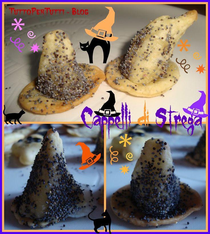 Tutto Per Tutti: CAPPELLI DI STREGA - Speciale Halloween. Tremate tremate le streghe son tornate!!