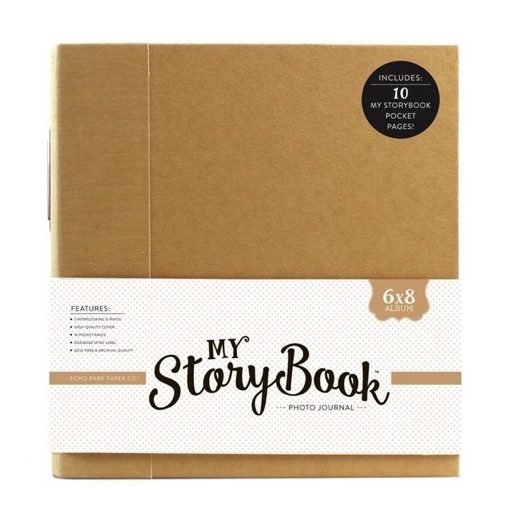 Echo Park Paper - My StoryBook - Journal 6x8 { Kraft Solid }