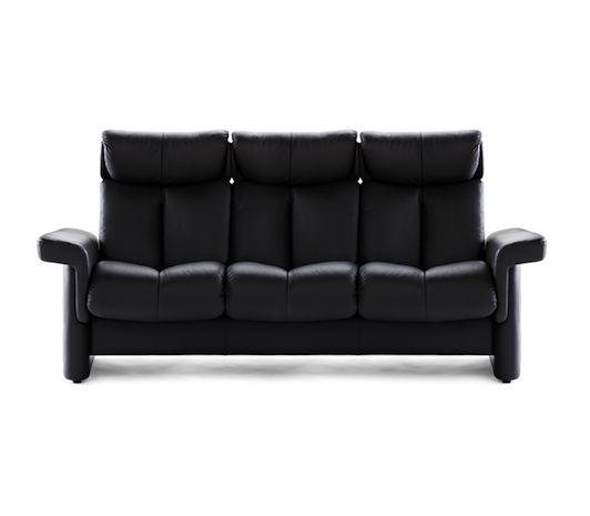 Ekornes Living Room Stressless Legend Highback Sofa   Discovery Furniture    Topeka And Lawrence Kansas