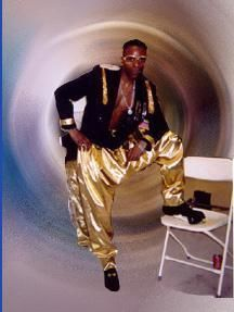 MC Hammer and parachute pants...can't touch this.