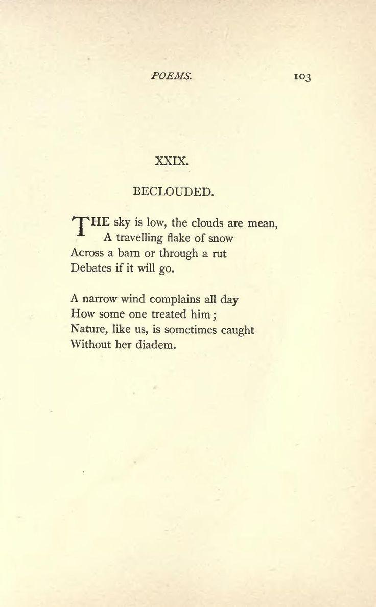 Mejores 25 ideas Dickinson poemas en Pinterest Emily-8240