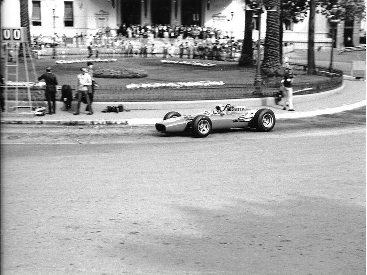LORENZO BANDINI FERRARI 312 PHOTOGRAPH #16 casino MONACO GRAND PRIX 1966 | eBay