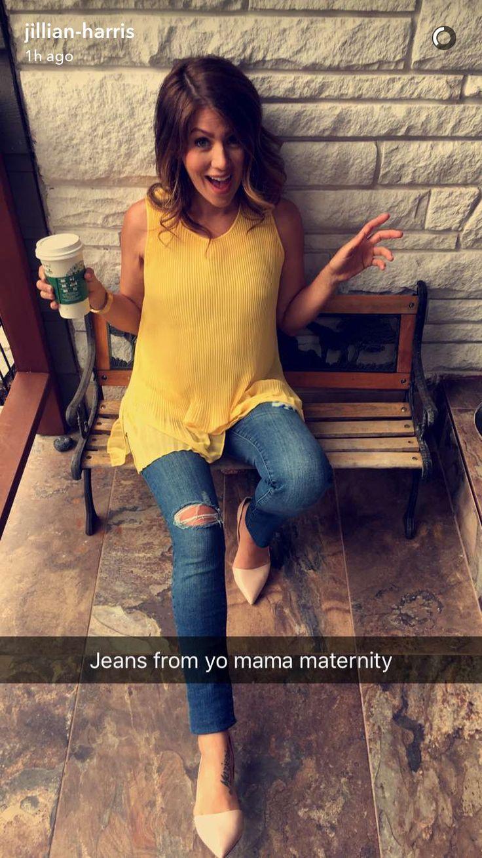 Jillian Harris pregnancy style!