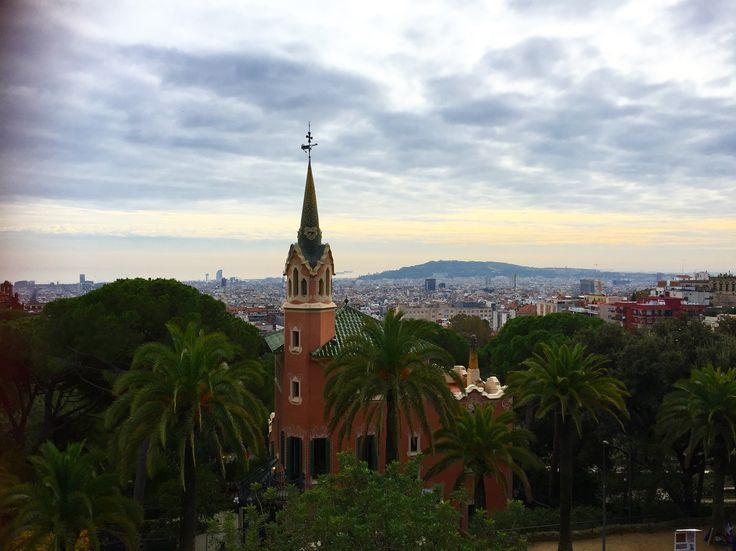 Casa di Gaudì, Park Güell, Barcellona, Spagna