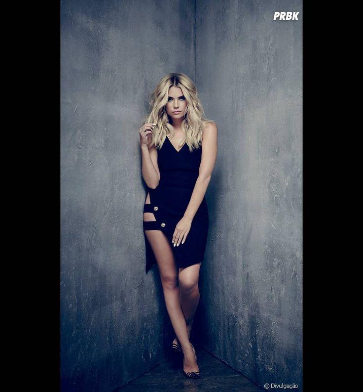 "Em ""Pretty Little Liars"": Hanna (Ashley Benson) aparece com look sensual em nova foto promocional"