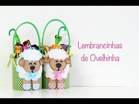 Reciclagem com latinhas - Lembrancinha de Ovelhinha