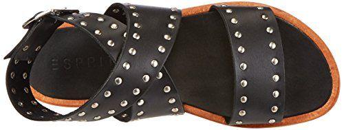 promo code 6541e f19ff edc by ESPRIT Strappy Sandals for Women's: Amazon.de: Schuhe ...