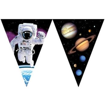 Space Odyssey Pennant Banner
