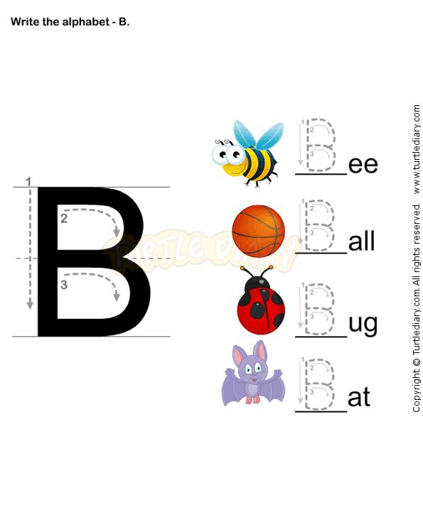 78+ images about School Bryce letter B on Pinterest | Alphabet ...